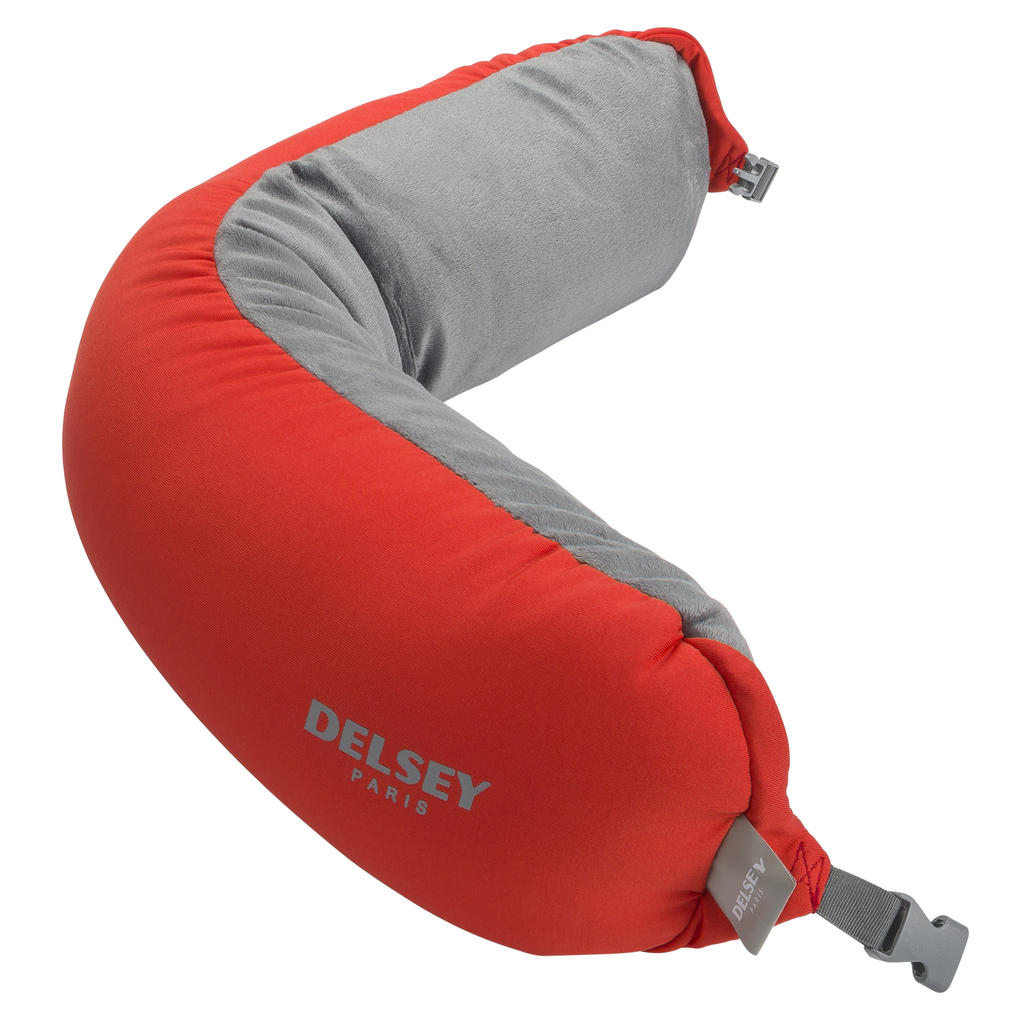 Red Travel Pillow