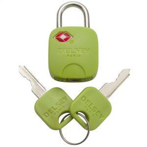 TN Lime Key Padlock