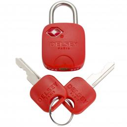 TN Red Key Padlock