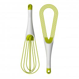 Twist Dual Whisk (Grn / Wht)