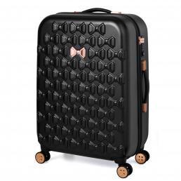 Beau Medium 4 Wheel Trolley Suitcase Black