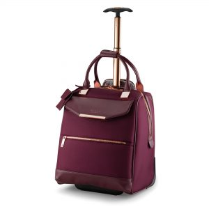 Womens Albany Softside Business Trolley Burgundy