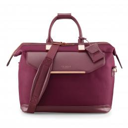 Womens Albany Softside Clipper Bag Burgundy
