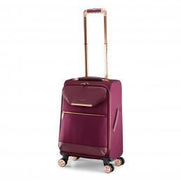 Womens Albany Softside 4 Wheel Small Suitcase Burgundy