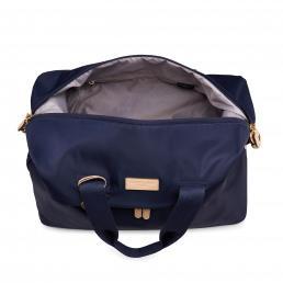 Radley Luggage Womens Travel Essentials Softside 4 Wheel Duffel Ink