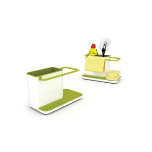 Caddy Sink Organisers Wht/Grn