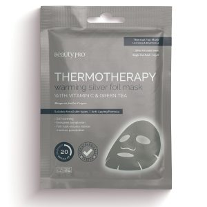 THERMOTHERAPY Warming Silver Foil Mask with Vitamin C & Green Tea