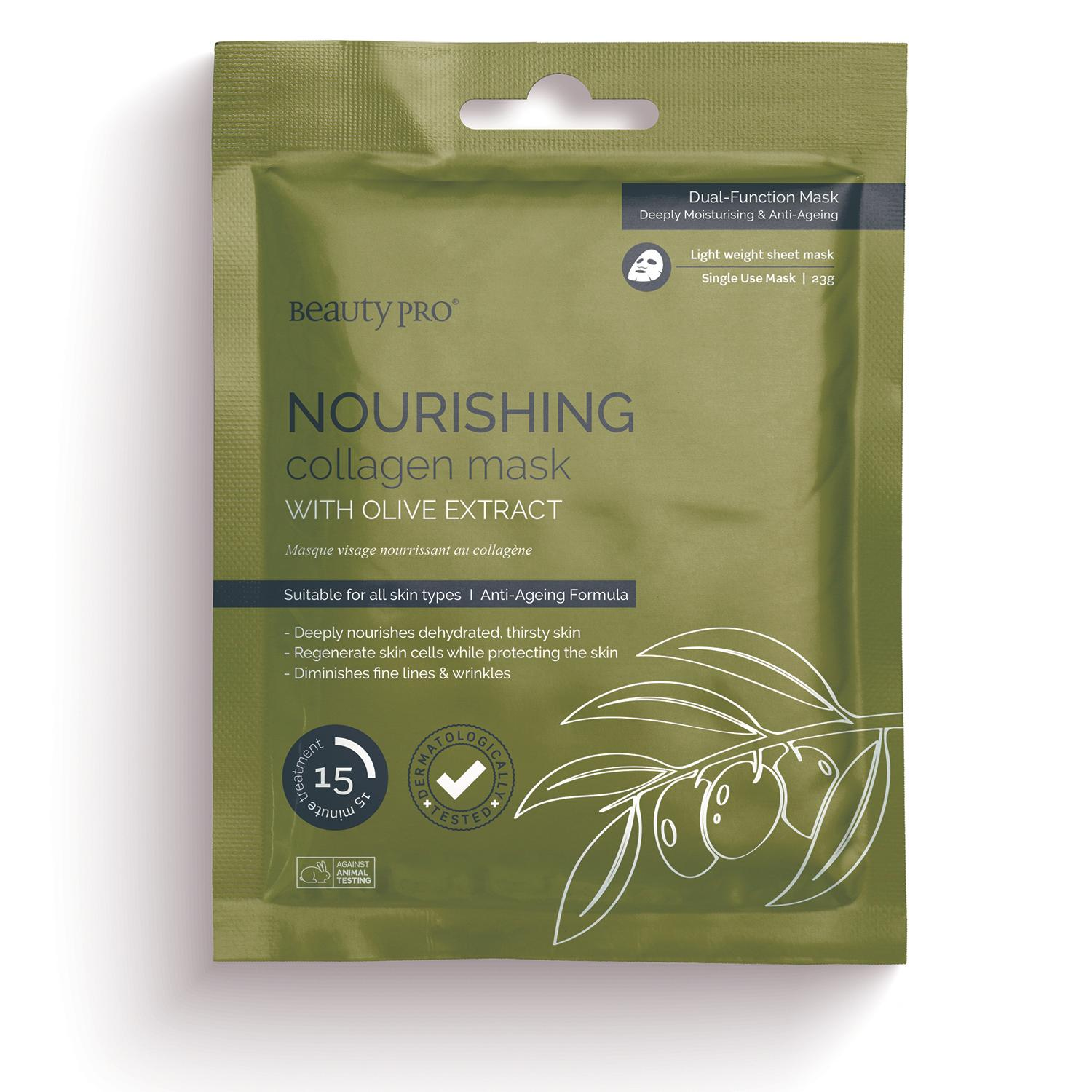NOURISHING Collagen Sheet Mask with Olive Extract 23g