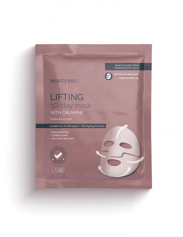 LIFTING 3D Clay Sheet Mask 18g