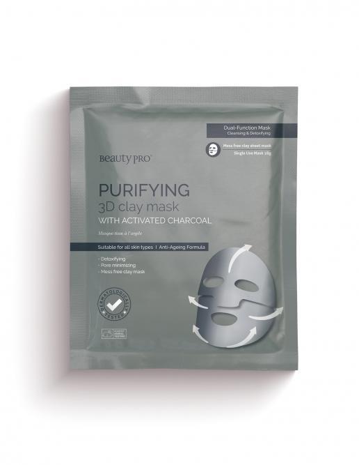 PURIFYING 3D Clay Sheet Mask 18g