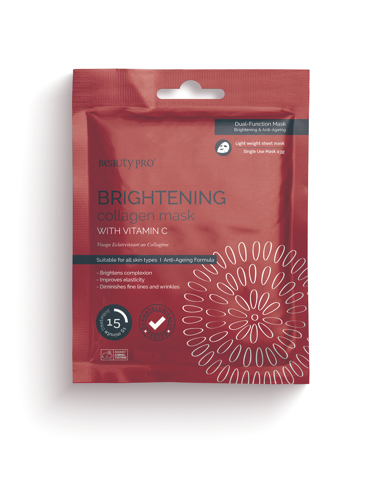 BRIGHTENING Collagen Sheet Mask with Vitamin C 23g