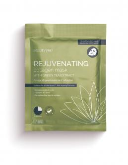 REJUVENATING Collagen Sheet Mask with Green Tea Extract 23g
