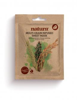 natura MULTI GRAIN Infused Sheet Mask 22ml / 0.75 fl oz