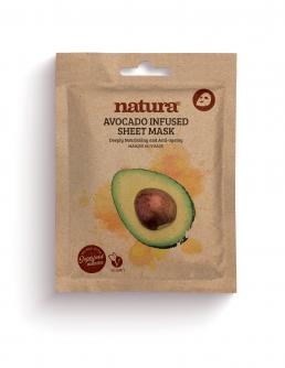 natura AVOCADO Infused Sheet Mask 22ml / 0.75 fl oz