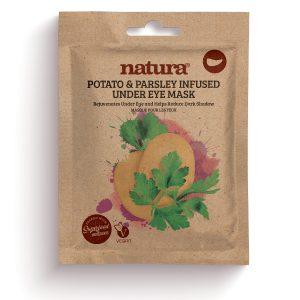 natura POTATO & PARSLEY Infused Under Eye Mask 3 x 3.5g