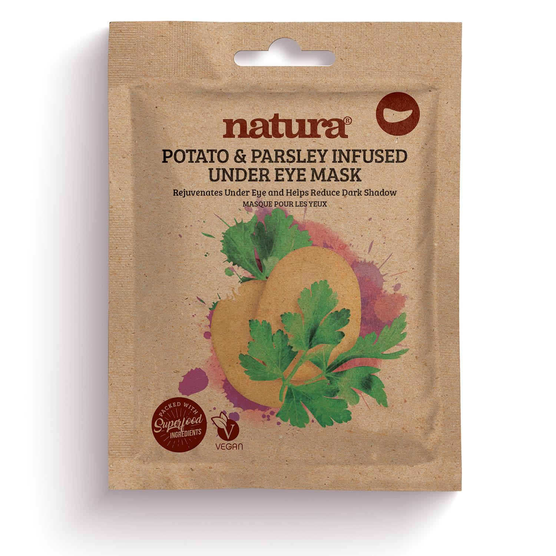 natura POTATO & PARSLEY Infused Under Eye Mask 3 x 3.5g