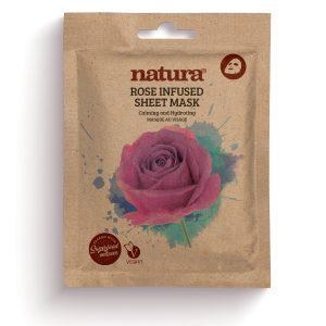 natura ROSE INFUSED Sheet Mask  22ml / 0.75 fl oz