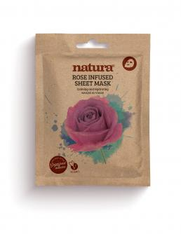 natura ROSE INFUSED Sheet Mask  22ml / 0.75 fl oz