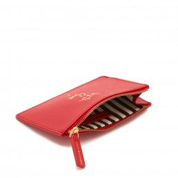 CLASSIC RED WITH LOVE LOTTIE POUCH