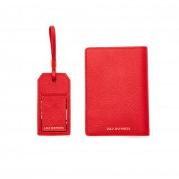 CLASSIC RED WITH LOVE TRAVEL SET