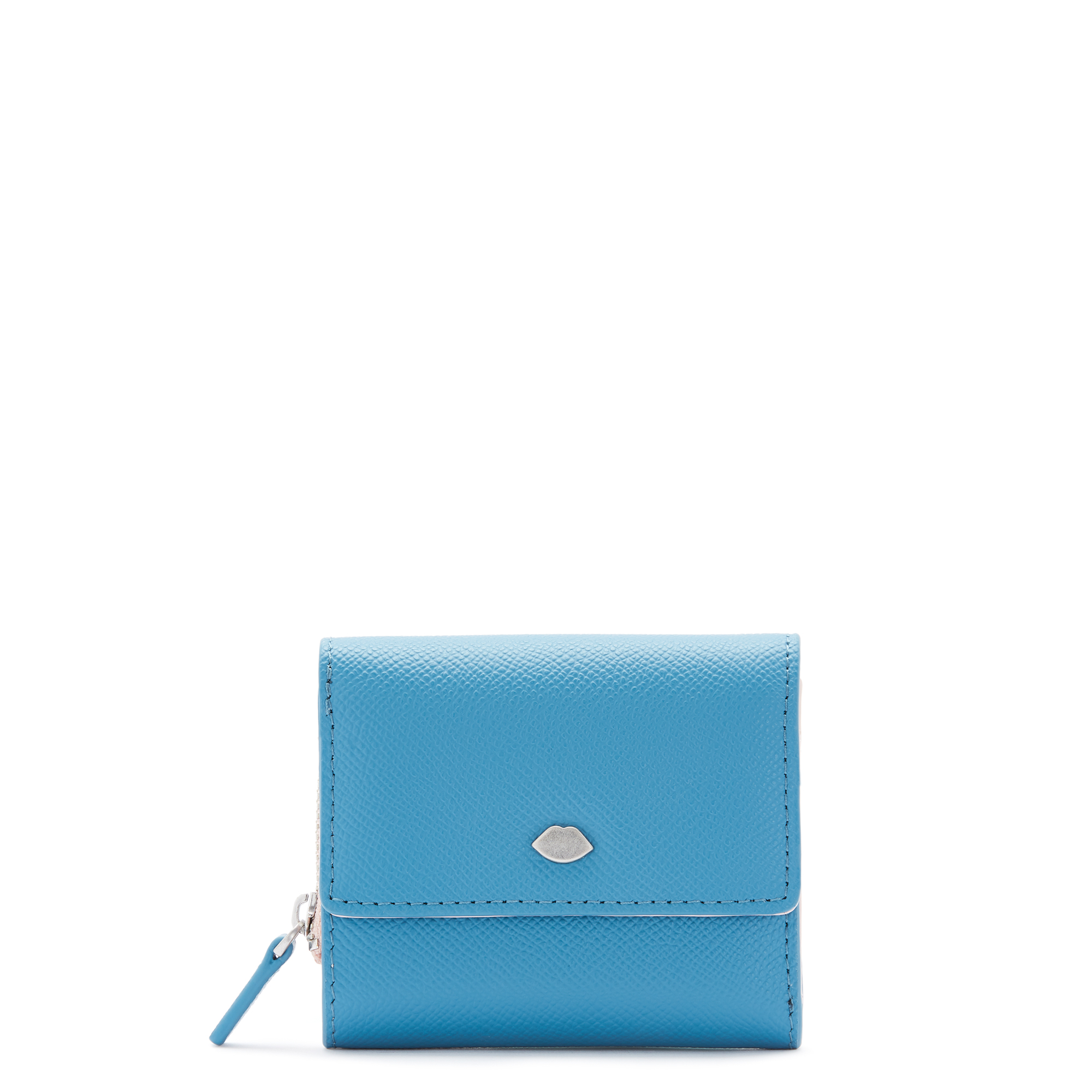 Sailor Blue Leather Lip Pin Jodie Wallet