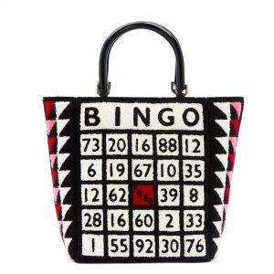 Black/Multi Bingo Bibi Tote Bag