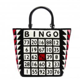 Black/Multi Bingo Bibi Tote Bag