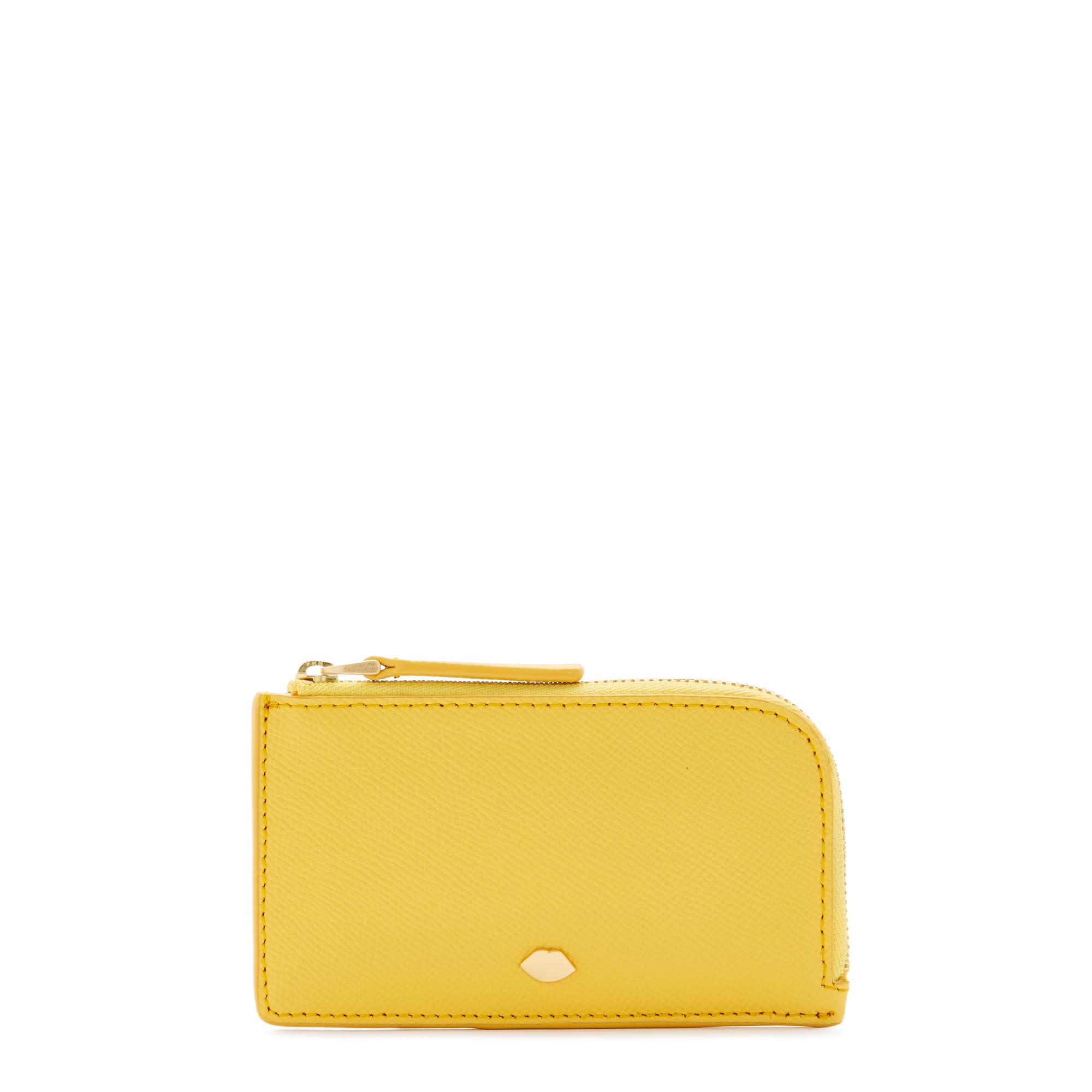 Dandelion Leather Lip Pin Leah Wallet
