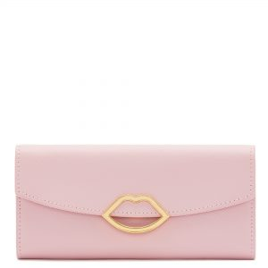 Blossom Leather Cut Out Lip Trisha Wallet