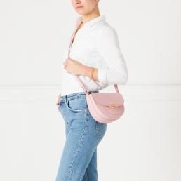 Blossom Med Cut Out Lip Esme Saddle Bag