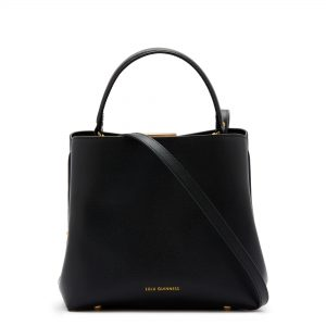 Black Medium Ruby Bucket Bag
