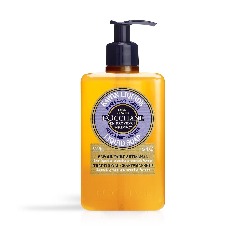 Shea Butter Lavender Liquid Soap 500ML