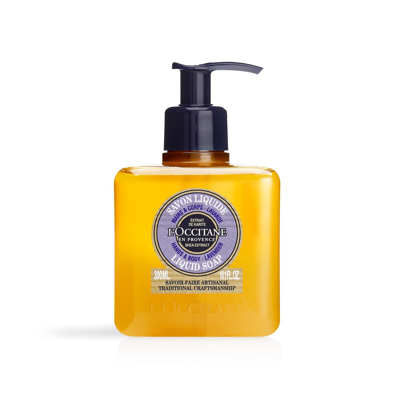 Shea Lavender Liquid Soap 300ml
