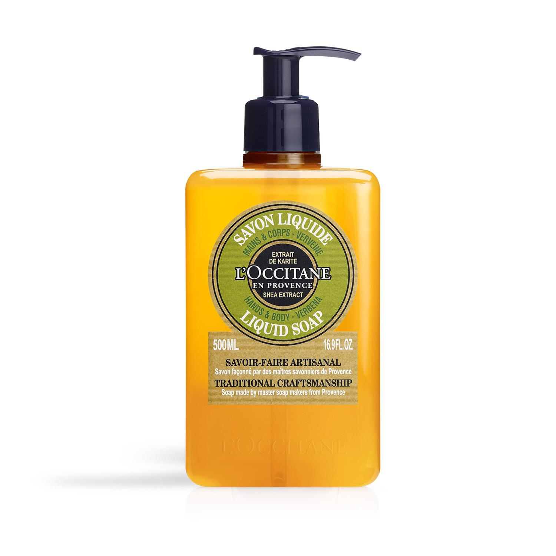 Shea Verbena Liquid Soap 500ml