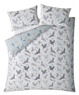 FLORAL FLIGHT IRIS KING BEDSET