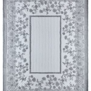 TAPESTRY TILE GREY THROW 150CMX200CM