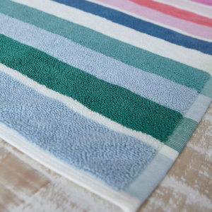 LOST GARDEN STRIPE BATH MAT MULTI