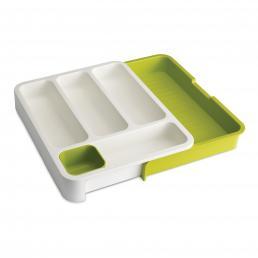 DrawerStore Cutlery Drawer Wht/Grn