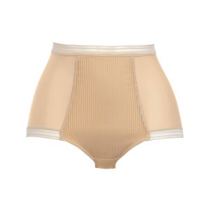 FUSION HIGH WAIST BRIEF SAND