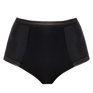 FUSION HIGH WAIST BRIEF BLACK