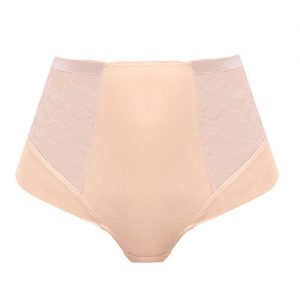 ILLUSION HIGH WAIST BRIEF NATURAL BEIGE