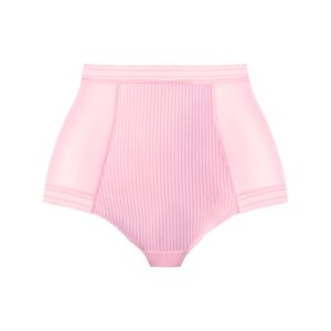 FUSION HIGH WAIST BRIEF BLUSH