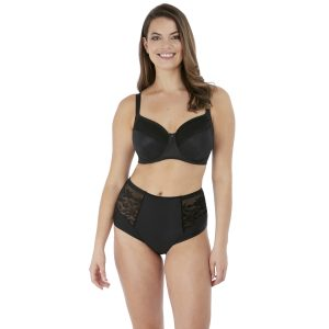 ILLUSION UW SIDE SUPPORT BRA BLACK