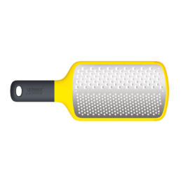 MULTI-GRATE  PADDLE  GRATER  - YELLOW