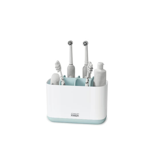 Easy-Store Toothbrush Caddy Large Blue