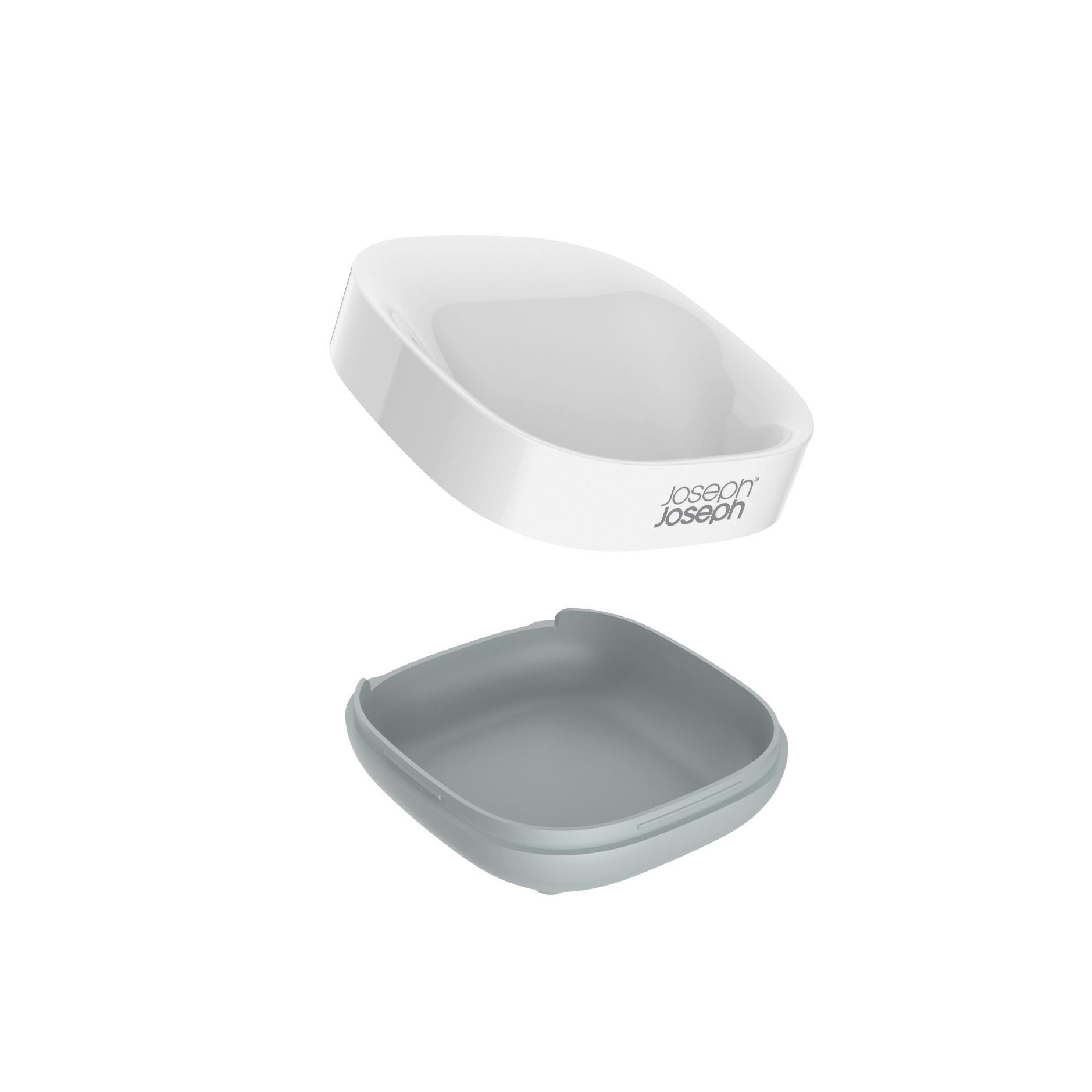 Slim Compact Soap Dish Grey