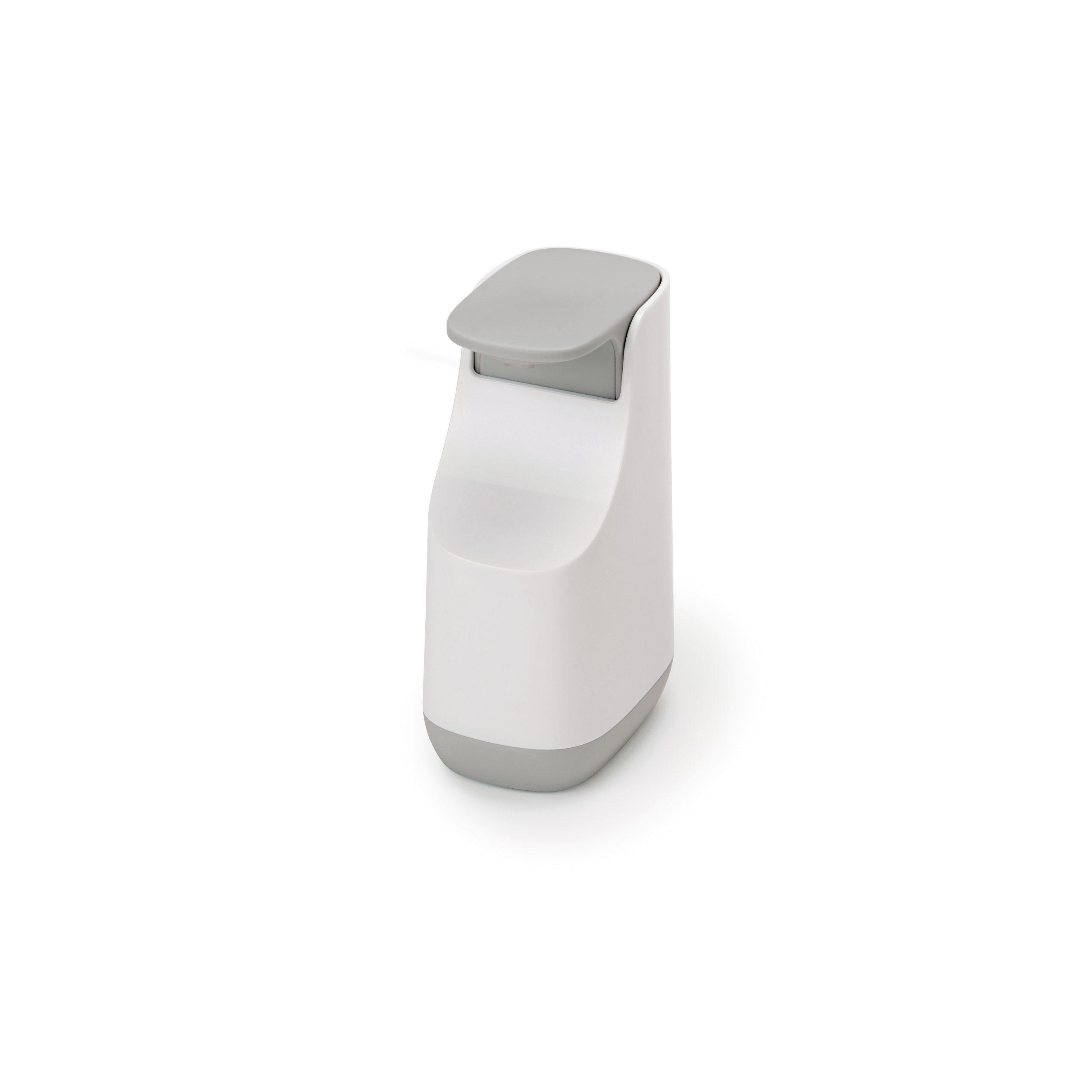 Slim Compact Soap Dish Dispenser Grey