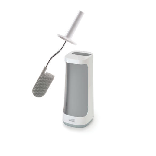 Flex Plus Smart Toilet Brush With Storage Bay Grey
