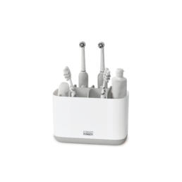 Easy-Store Toothbrush Caddy Large Grey