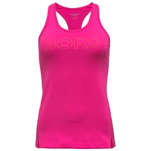 Racerback Fitted Tank – Pink